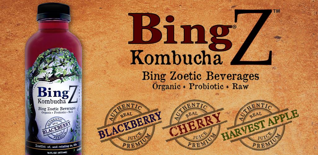 Bing Kombucha Beverage
